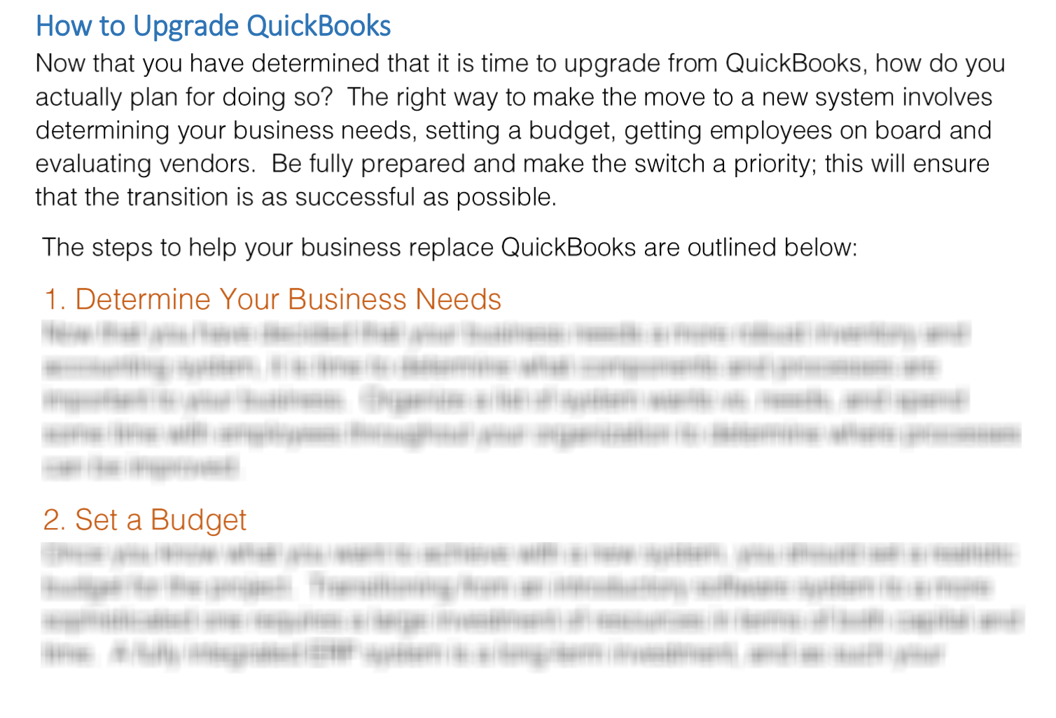 Replace QuickBooks Preview Text